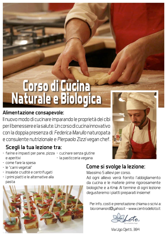 Corso Di Cucina Naturale E Biologica Centro Del Loto