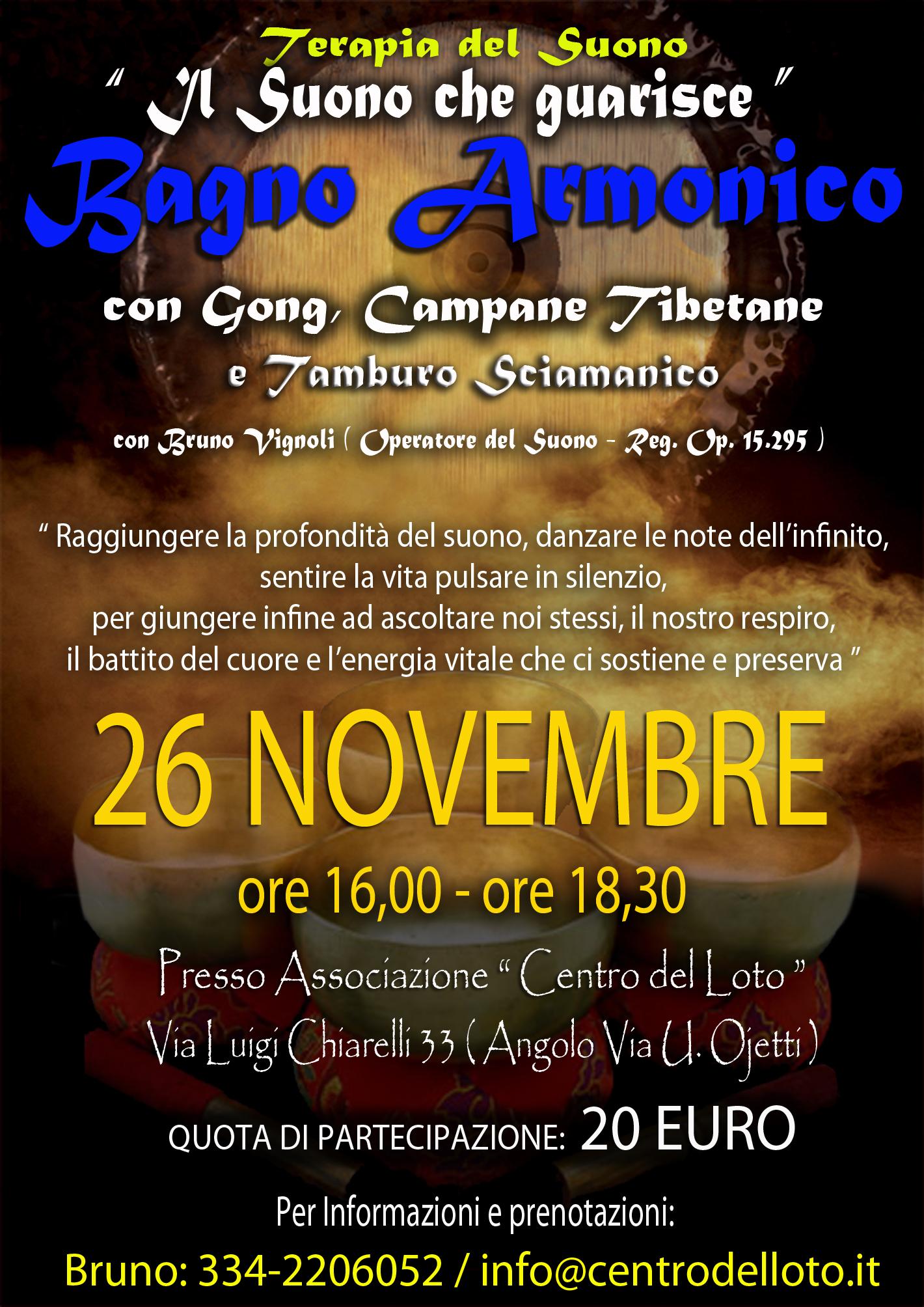 Bagno Armonico Centro del Loto26.11.2016 2