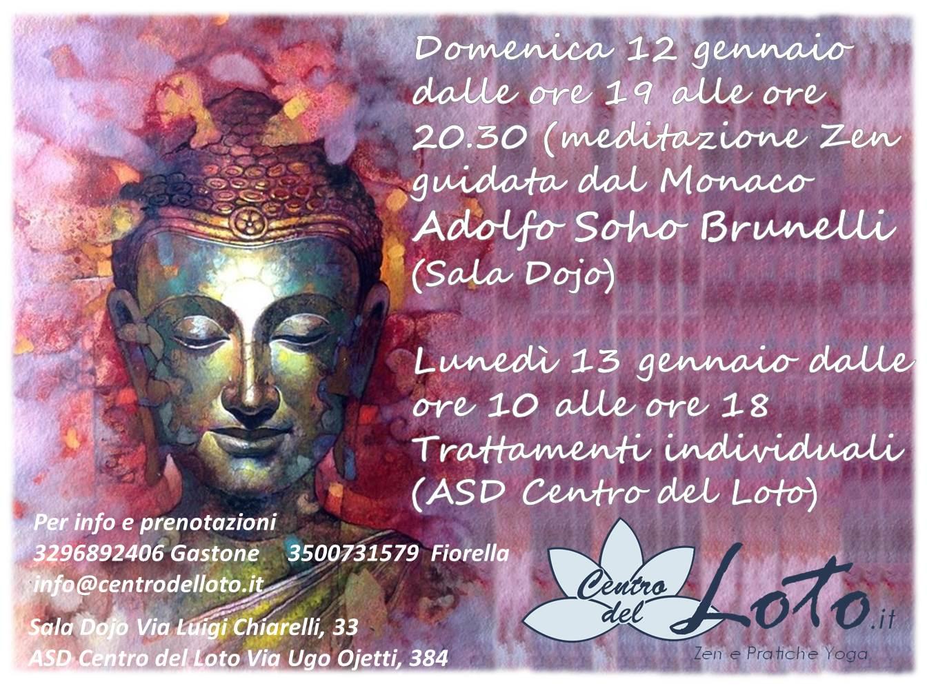 Serata di Meditazione Zen @ Centro del Loto | Roma | Lazio | Italia