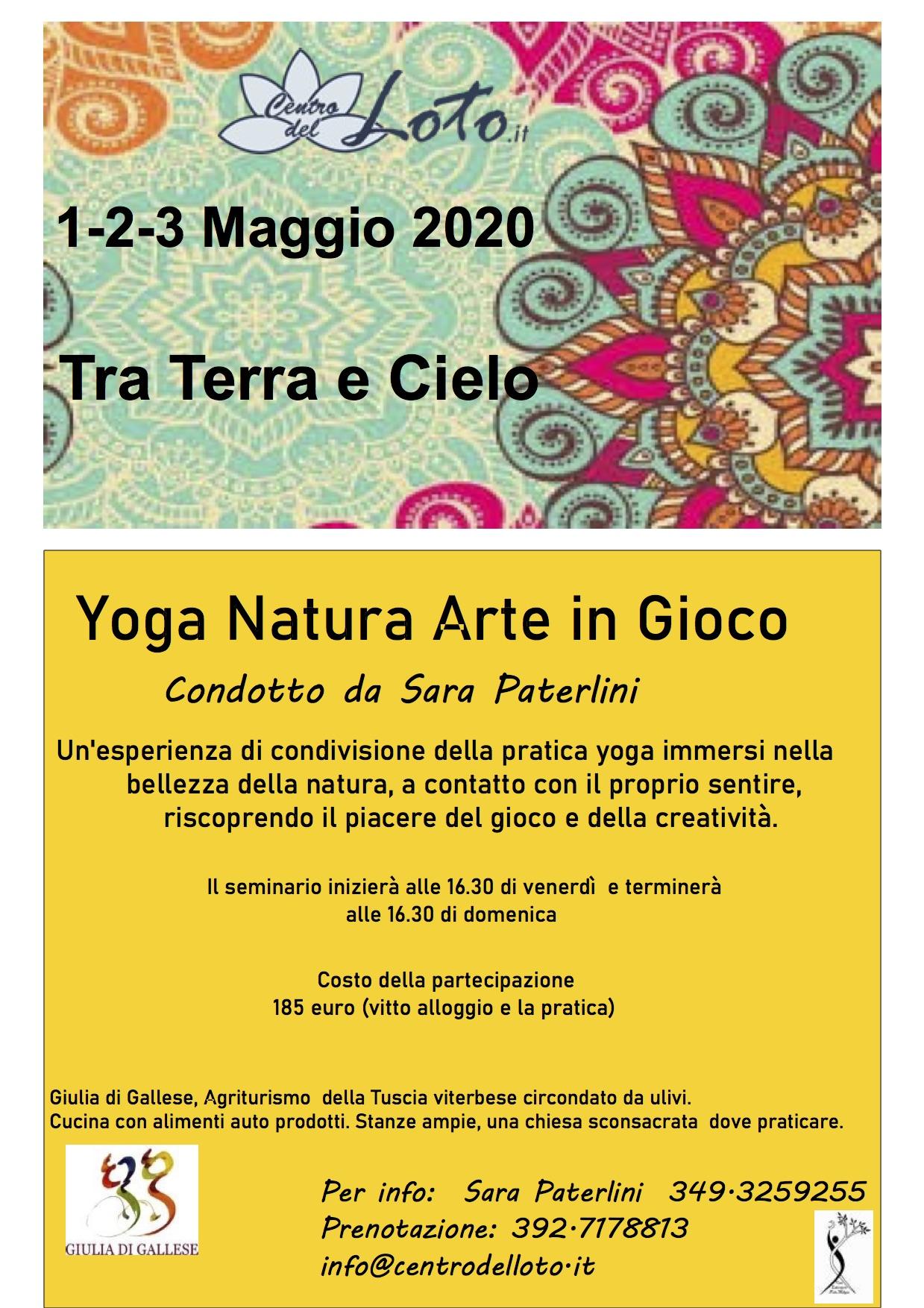 Tra Terra e Cielo - Seminario residenziale @ Agriturismo Giulia di Gallese | Lazio | Italia